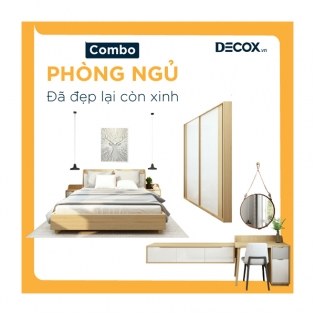 Combo Phòng Ngủ – Debed 1