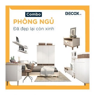 Combo Phòng Ngủ – Debed3