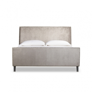 Mansfield Upholstered Bed - US King - Mossop Storm
